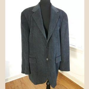 Baumler Blazer Mens Size 27 Sport Coat Blue/Gray